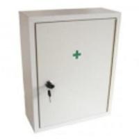 Lékárnička - bílá dřev.  nástěn.  42x33x14 - prázdná