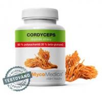 Mycomedica Cordyceps 50% 90 veganských kapslí