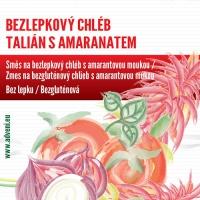 Adveni Bezlepkový chléb Talián s amarantem 500g