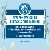Adveni bezlepkový chléb Energy s chia 500g
