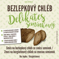 Adveni bezlepkový chléb Delikates se směsí semínek 500g