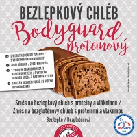Adveni Bezlepkový chléb Bodyguard 500g