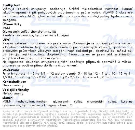 ALAVIS 5 tbl.90 - Brněnská lékárna - Váš partner pro zdraví ccd6c316d9