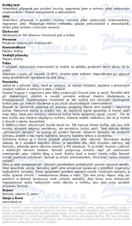 ALAVIS Sanicell tbl.60 a.u.v. - Brněnská lékárna - Váš partner pro ... c250cd5d35