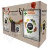 LEROS Meduplné spojení bylinný čaj 2x20ks+med 200g