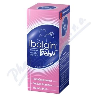 Ibalgin Baby por.sus.1x100ml-2gm