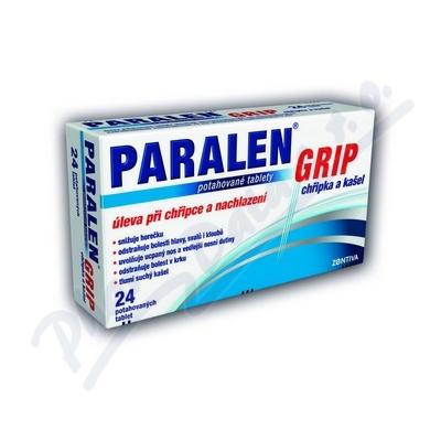 Paralen Grip chřipka a kašel por.tbl.flm.12
