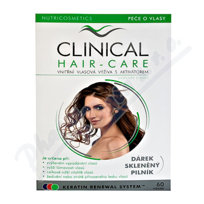 Clinical Hair-Care tob.60+sklen.pilník - 2měs.kúra