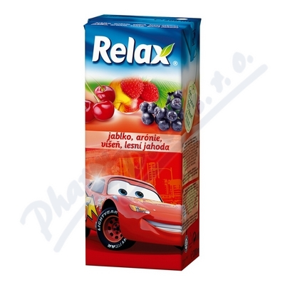 Relax jablko-arónie-višeň-lesní jahoda 0. 2l