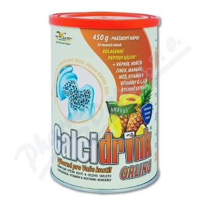 Calcidrink nápoj ananas 450g