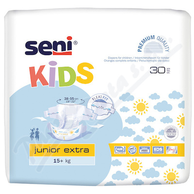 Seni Kids Junior Extra plenko. kalhotky 15+ 30ks