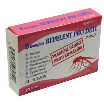 Rosen B-komplex REPELENT pro děti drg. 25