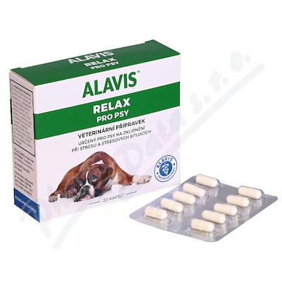 ALAVIS RELAX pro psy cps.20 - Brněnská lékárna - Váš partner pro zdraví 12270ac635