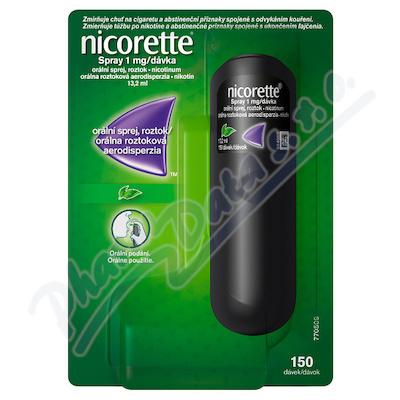Nicorette spray 1mg-dávka orm.spr.1x13.2ml-150mg