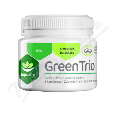 Green Trio Topnatur Chlor. Spirul. Z. ječmen tbl. 180