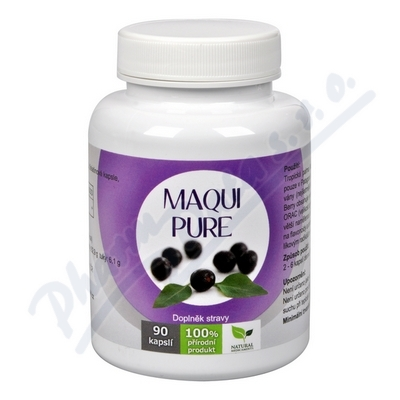 Natural Medicaments Maqui Pure cps. 90