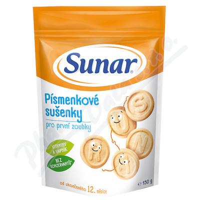 Sunárek dětské sušenky písmenkové 150g