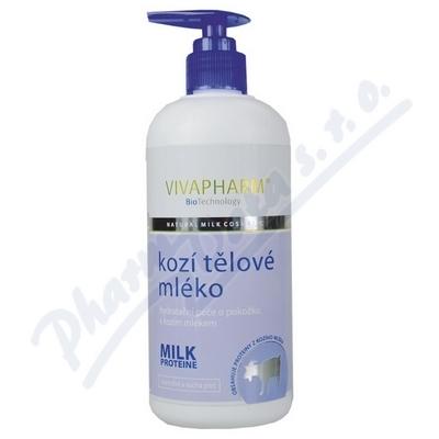 Kozí tělové mléko hydratační péče 400ml