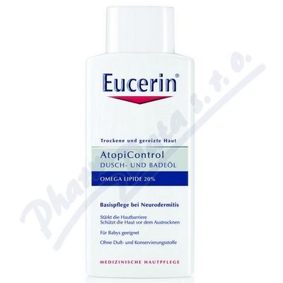 EUCERIN AtopiControl sprch. olej suchá zarud.  400ml