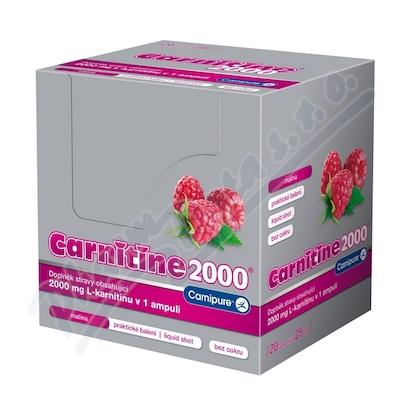 CARNITINE 2000 malina ampule 20x25 ml