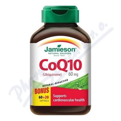 JAMIESON Koenzym Q10 60 mg cps. 60+20