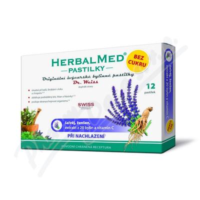 HerbalMed past.Dr.Weiss bez cukru Šalv+žen+C 12