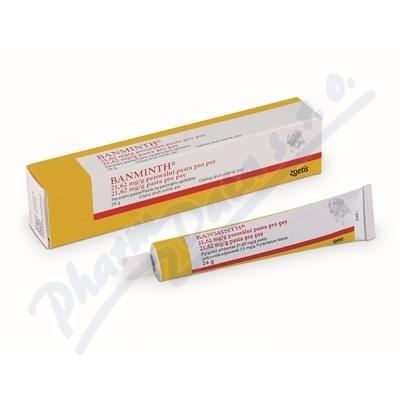 Banminth 21. 62mg-g perorální pasta pro psy 24g
