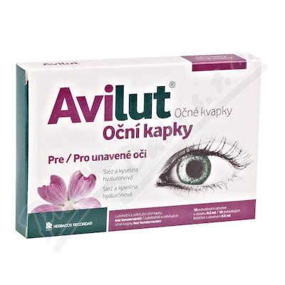 Avilut Oční kapky 10x0. 5ml