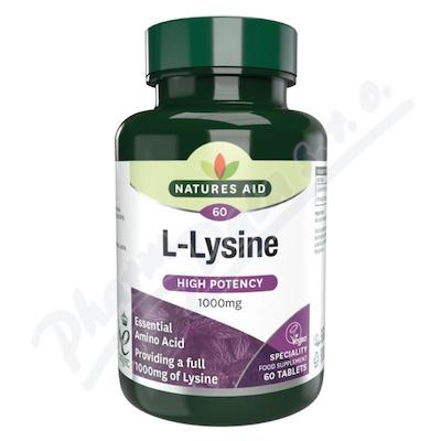 L-Lysín (1000 mg) tbl.60