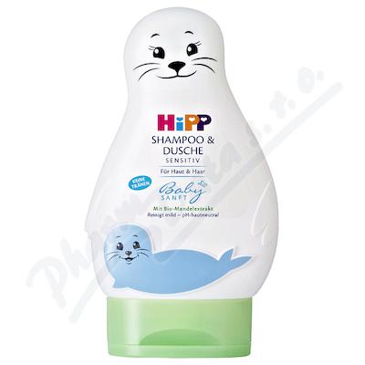 HiPP BABYSANFT Šampon Vlasy a tělo (LACHTAN) 200ml