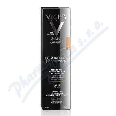 VICHY DERMABLEND 3D make-up č. 45 30ml
