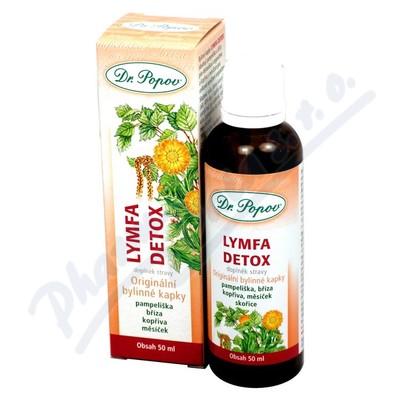 Dr. Popov Kapky bylinné Lymfa-Detox 50ml
