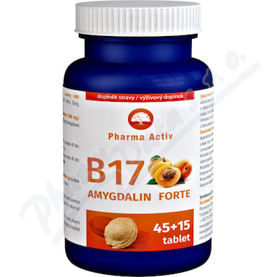 B17 Amygdalin Forte tbl. 45+15