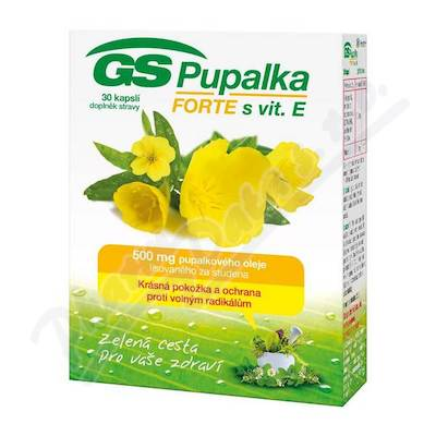 GS Pupalka Forte s vitaminem E cps. 30 2016