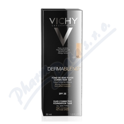 VICHY DERMABLEND Korekční make-up č. 15 30ml