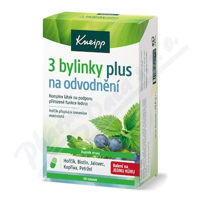 KNEIPP 3 bylinky na odvodnění tob. 60