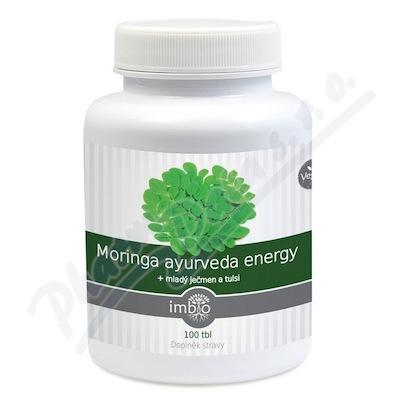 Imbio Moringa ayurveda energy tbl. 100