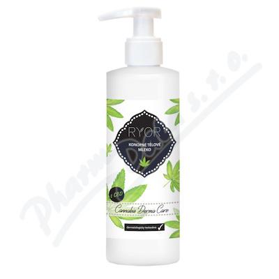 RYOR Cannabis Care Konopné tělové mléko 200ml
