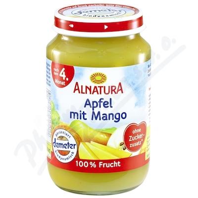 Alnatura BIO Jablko s mangem 100% ovoce 190g 4M