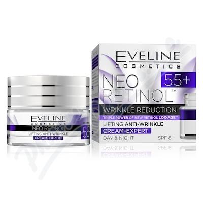 EVELINE Neo Retinol Denní-Noční krém 55+ 50ml