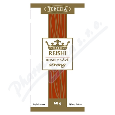 TEREZIA Reishi v kávě strong 20 sáčků á 3. 4g