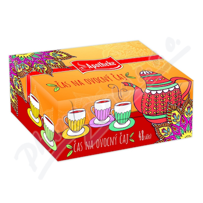 Apotheke Kolekce ovocných čajů II 48 sáčků
