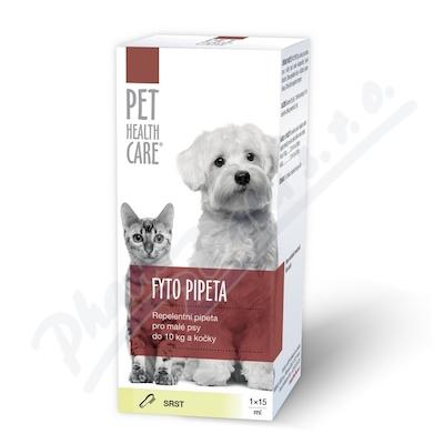 PET HEALTH CARE Fytopipeta pes 10kg kočka 1x15 ml