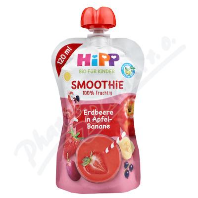 HiPP BIO Smoothie Jablko-Banán-Červené ovoce 120g