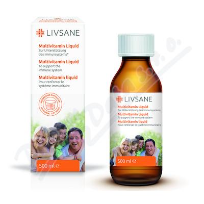 LIVSANE tekutý Multivitamín 500 ml