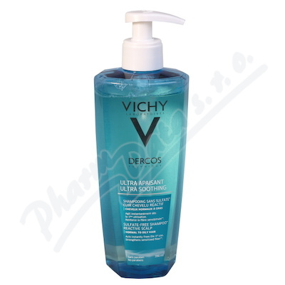 VICHY Dercos ULTRA SOOTH. GREASY šampon 390ml