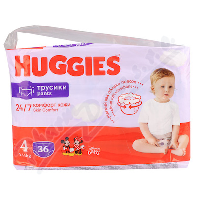 HUGGIES Pants Jumbo 4 9-14kg 36ks