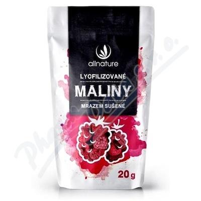Allnature Malina sušená mrazem celá 20 g
