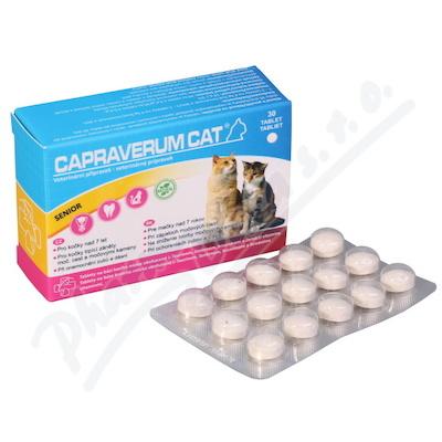 Capraverum Cat senior tbl.30 - Brněnská lékárna - Váš partner pro zdraví 47e6778991