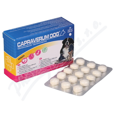 Capraverum Dog senior tbl.30